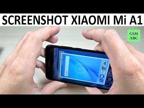 How to TAKE A SCREENSHOT on Xiaomi Mi A1