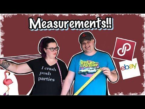 Measurement Tutorial for Your Poshmark, eBay Listings📏📐