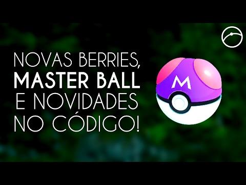 Novas Berries, Master Ball e mais novidades no código do Pokémon GO!