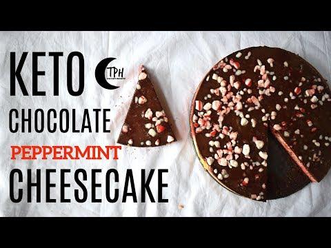 Keto Candy Cane Cheesecake | + FREE Keto eCookbook!