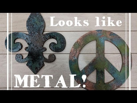 How to Make Anything Look like Aged  METAL! - DIXIE BELLE Patina PAINT - LIVESTREAM
