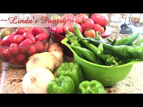 ~Home Canning Stewed Tomatoes With Linda's Pantry~