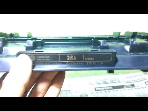 HOW TO REFILL HP 26 a toner catridge detail video || HP Laser Jet Pro M402dw || M426fn
