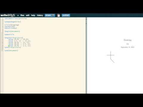 Basic LaTeX 07: Drawing using Tikz