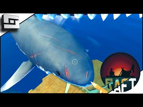 RAFT! Food, Water, and SHARKS! E2