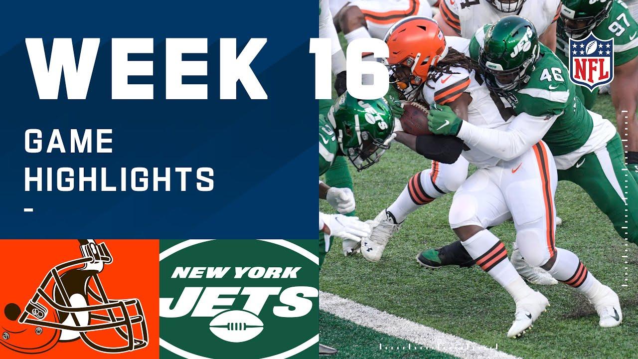 Browns vs. Jets Week 16 Highlights | NFL 2020
