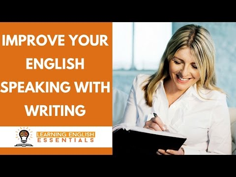 How to improve your English by practicing English writing | English speaking tips.
