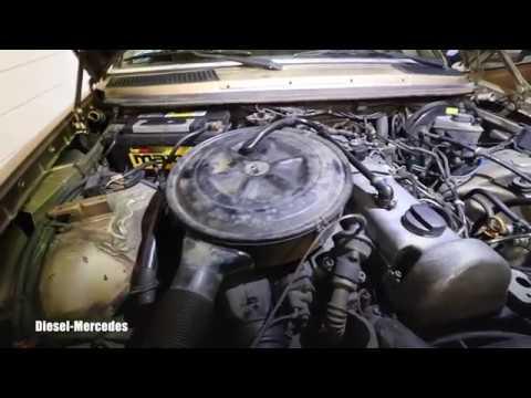 Mercedes W123 Turbo Diesel Fuel Leak