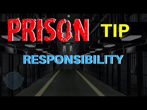 FEDERAL PRISON & OWNING YOUR MISTAKES.