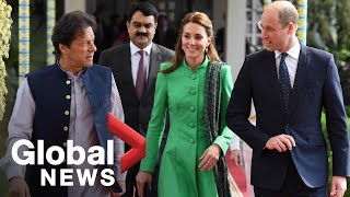 Prince William and Kate visit PM Khan, students on first royal trip to Pakistan in over a decade