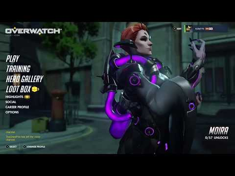 Overwatch OE Moira Update Opening 5 Loot Boxes