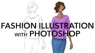 How to Render Fashion Illustrations in Adobe Photoshop