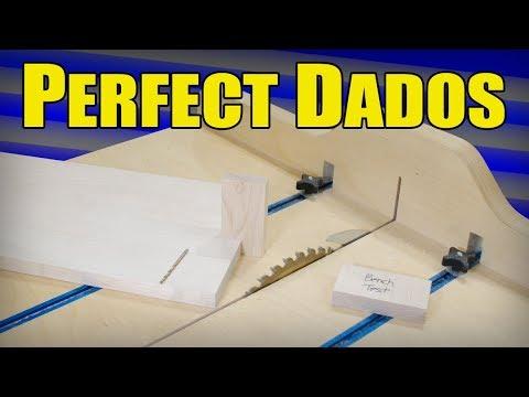 Ⓕ Perfect Dados Without A Dado Blade - No Measuring & No Math (ep82)
