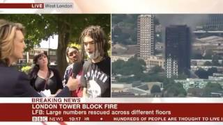 Powerful and angry words from residents of Grenfell Tower - London Tower block fire