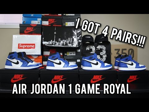 Air Jordan 1 Game Royal Review | How I was able to get 4 pairs for Retail (The Truth)