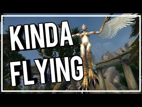 ALMOST FLYING IN LEGION - World of Warcraft Legion