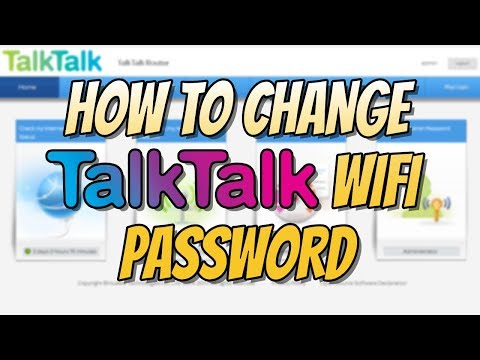 How To Change Your WIFI Password On TalkTalk Router