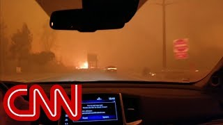 California fire evacuee: All we could do was pray