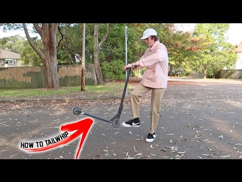 HOW TO TAILWHIP ON A SCOOTER!