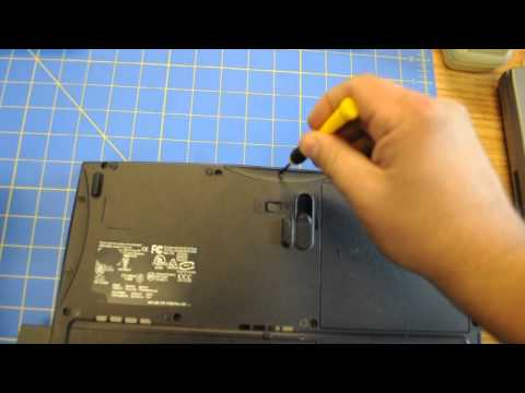 How to remove hard drive from Dell Inspiron 2650 HD Laptop