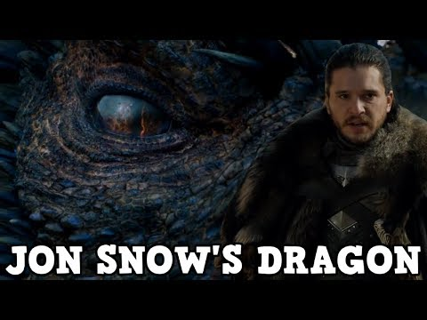 Game of Thrones Season 8 - Jon Snow's Dragon