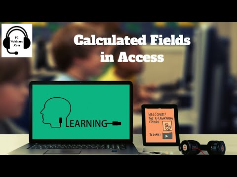 Calculated Field in Access - How to add a calculated field in an Access Table Access 2016 2013 2010