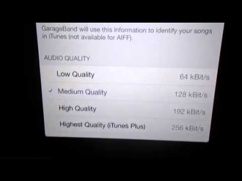 How to Export Song from GarageBand To iMovie