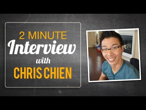 2 Minute Elevator Pitch - Chris Chien