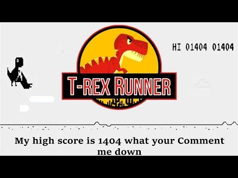 Best offline game | Trex Runner | simple easy and lite video game | Tech Guru Sumit