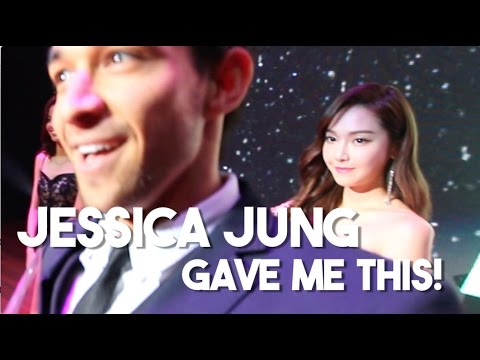 Jessica Jung's Best Surprise Ever! (Influence Asia Awards, Malaysia)