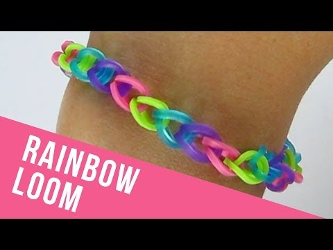How To Make a Basic Rainbow Loom Bracelet