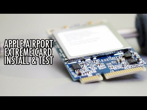 Airport Extreme Card Install Test for 2006 Mac Pro