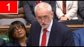 Jeremy Corbyn  Q&A+Full Speech | First day of debate on the Queen