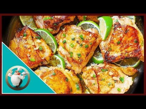 Honey Lime Chicken Thighs | Easy Chicken Recipe For Dinner