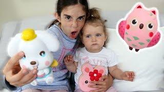 BABY vs SQUISHY TOYS!!