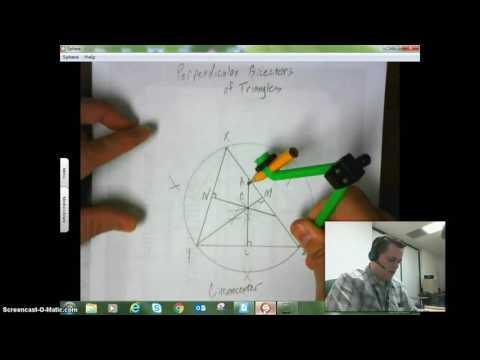 Perpendicular Bisectors and Circumcenters of Triangles