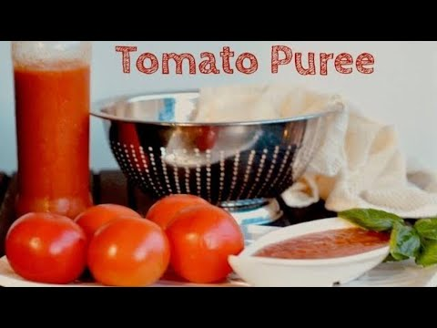 Tomato Puree for Indian Cooking | RecipesAreSimple