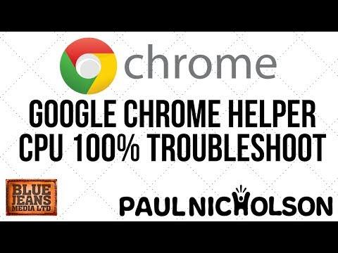 Google Chrome Helper CPU 100%+ Troubleshooting - How To Make It Use Less RAM