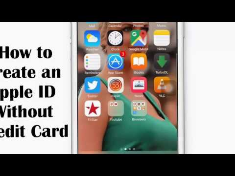 How to make an apple ID without credit card free- Apple ID.