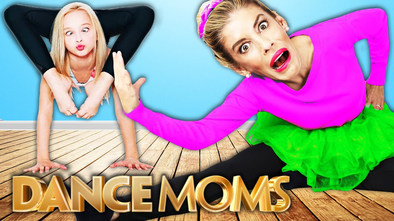 Dance Moms in Real Life Challenge with Lilly K! Rebecca Zamolo
