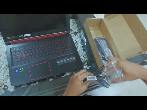 UNBOXING ACER NITRO 5 - BEST BUDGET GAMING LAPTOP (AN515-52)