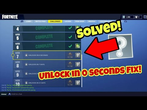 How to fix Unlock in 0 seconds Fortnite