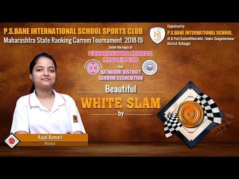 Beautiful White Slam by Kajal Kumari (Mumbai) in Women's Single FINAL: Set-2