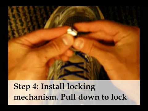 How to install quick lace system