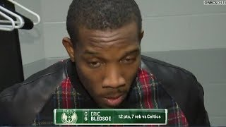 """Eric Bledsoe Says """"IDK Who The F That Is"""" after Getting MURDERED by Terry Rozier   2018 NBA Playoffs"""