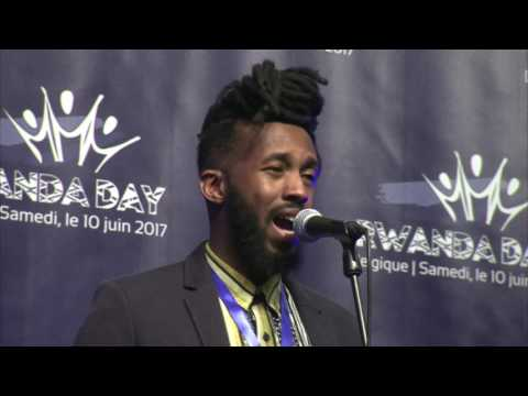 Soul T performs at Rwanda Day Belgique 2017