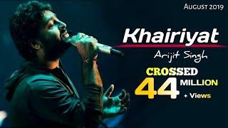 Arijit Singh: Khairiyat Song (Sad Version) | Chhichhore | Pritam | Amitabh Bhattacharya