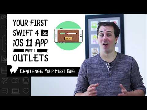 Challenge: Your First Bug - Beginning Programming with iOS 11, Swift 4, and Xcode 9