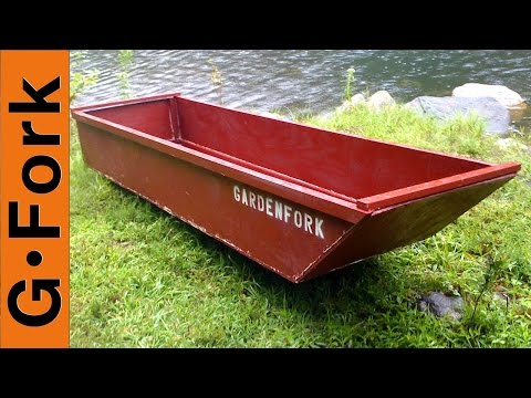 One Sheet Plywood Boat - GardenFork