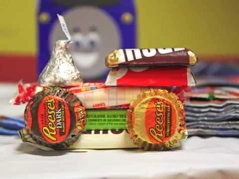 DIY Candy Train Favors